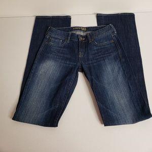 Express Jeans Dark Wash Stella Boot Cut Juniors 01